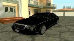 Maybach 57 TT Black Revel für GTA San Andreas