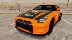 Nissan GT-R 2012 Black Edition NFS Underground