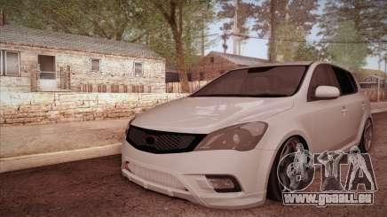 Kia Ceed 2011 SA Plates für GTA San Andreas