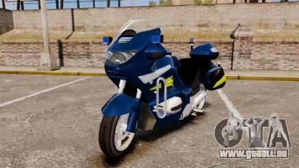 BMW R1150RT Gendarmerie [ELS] pour GTA 4