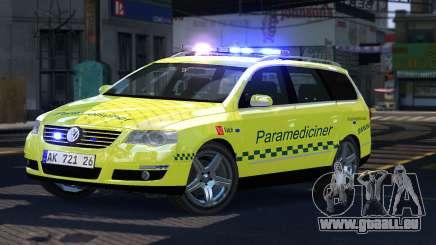 Volkswagen Passat Variant 2010 Paramedic [ELS] pour GTA 4