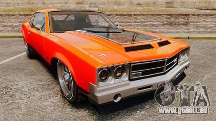 Declasse SabreGT new wheels pour GTA 4