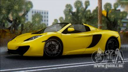 McLaren MP4-12C Spider für GTA San Andreas