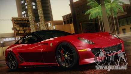 Ferrari 599 GTO 2011 für GTA San Andreas