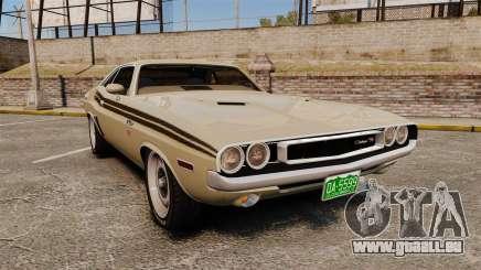Dodge Challenger RT 1972 pour GTA 4