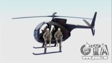 OH-6 Cayuse pour GTA San Andreas