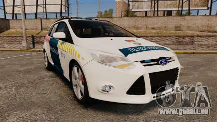 Ford Focus 2013 Hungarian Police [ELS] für GTA 4