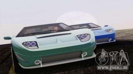 Insipide Bullet GT из GTA 5 pour GTA San Andreas