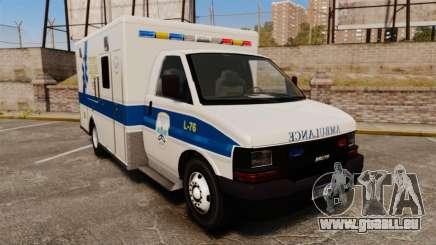 Brute Speedo TEMS Ambulance [ELS] für GTA 4