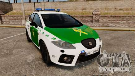 Seat Cupra Guardia Civil [ELS] pour GTA 4