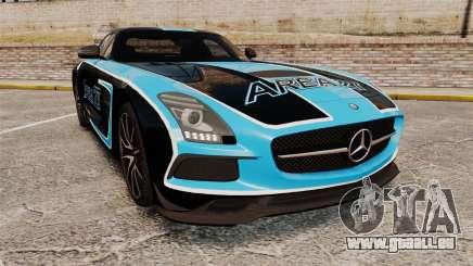 Mercedes-Benz SLS 2014 AMG Black Series Area 27 für GTA 4