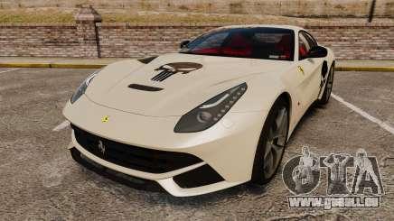 Ferrari F12 Berlinetta 2013 [EPM] Deaths-head pour GTA 4