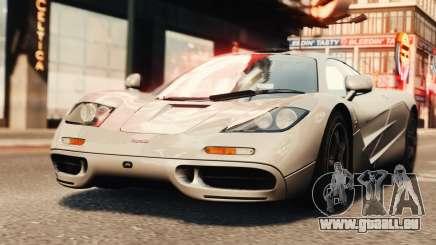 McLaren F1 XP5 pour GTA 4