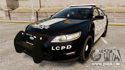 Ford Taurus LCPD Interceptor 2011 [ELS] pour GTA 4