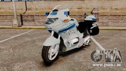 BMW R1150RT Police municipale [ELS] pour GTA 4