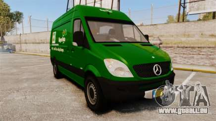 Mercedes-Benz Sprinter 2500 2011 Hungarian Post pour GTA 4