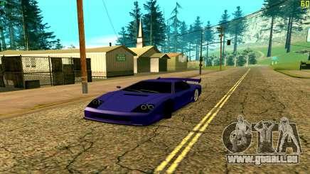 Neue Turismo für GTA San Andreas