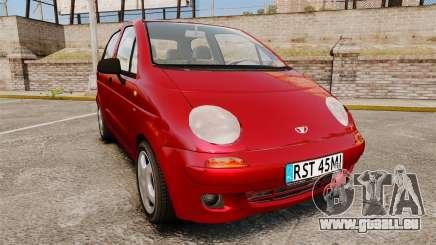 Daewoo Matiz SE 1998 für GTA 4