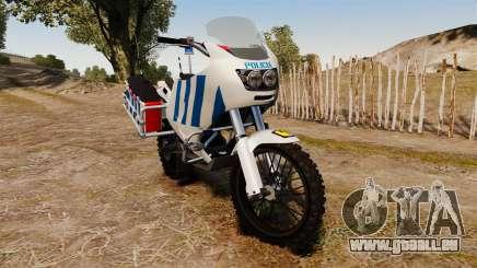 Portugiesische Polizei Motorrad [ELS] für GTA 4