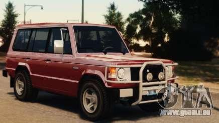 Mitsubishi Pajero I WAGON pour GTA 4