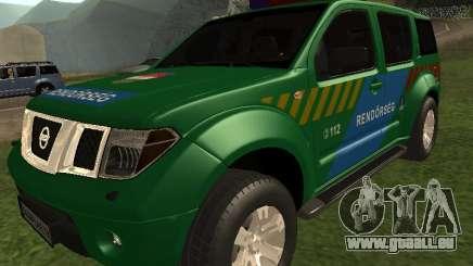 Nissan Pathfinder Police für GTA San Andreas