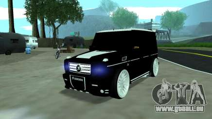 Mercedes G65 new tuninG pour GTA San Andreas