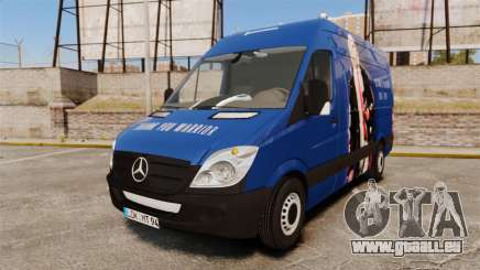 Mercedes-Benz Sprinter 2011 WWE Ultimate Warrior pour GTA 4
