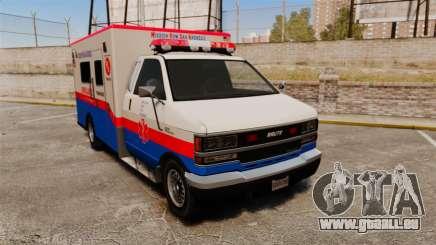 Brute MRSA Paramedic für GTA 4