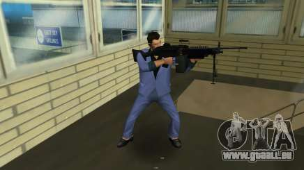 M249 из Battlefield 2 für GTA Vice City