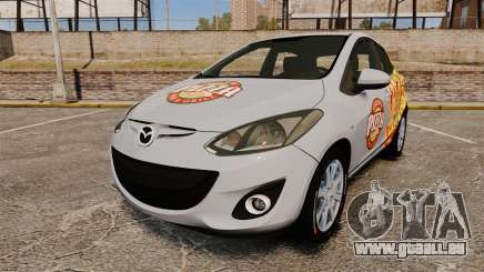 Mazda 2 Pizza Delivery 2011 pour GTA 4