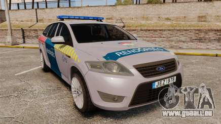 Ford Mondeo Hungarian Police [ELS] für GTA 4