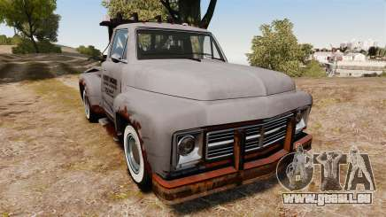 GTA IV TLAD Vapid Tow Truck pour GTA 4