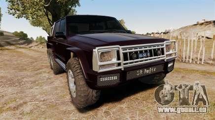 Jeep Carver 6X6 für GTA 4