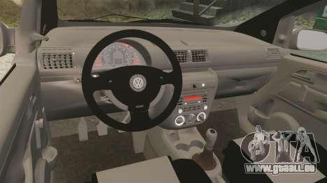 Volkswagen Fox pour GTA 4 Vue arrière