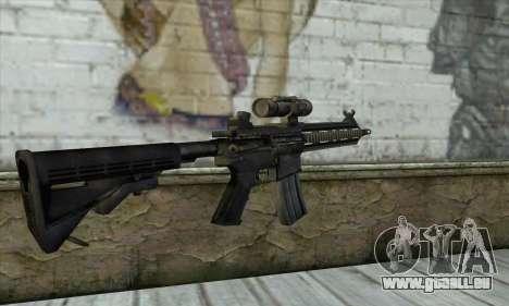 HK416 für GTA San Andreas zweiten Screenshot