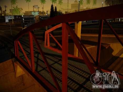 ENBSeries pour les faibles PC v3.0 pour GTA San Andreas cinquième écran