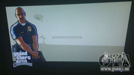 GTA 5 GTA San Andreas Loading Screen zweite Screenshot