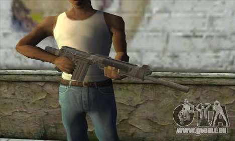SC-2010 из COD: les Fantômes pour GTA San Andreas troisième écran