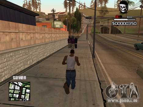 C-HUD By Kapo pour GTA San Andreas