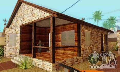 Neues Haus big Smoke für GTA San Andreas her Screenshot