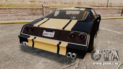 GTA V Imponte Phoenix pour GTA 4 Vue arrière de la gauche