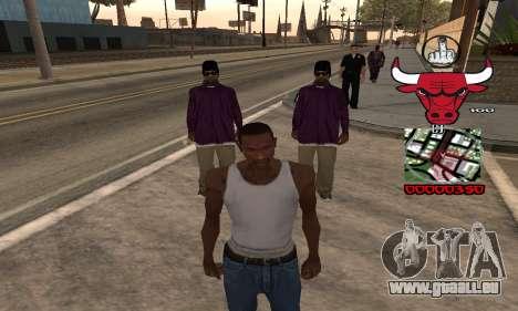 C-HUD Chicago Bulls pour GTA San Andreas