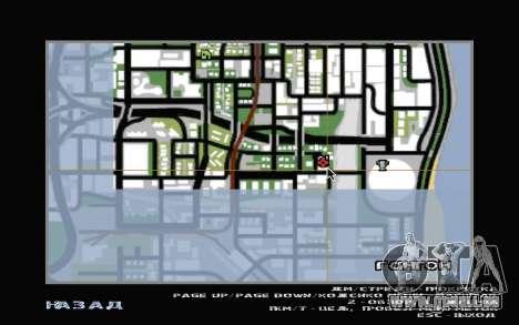 Le sous-sol de la maison Carl pour GTA San Andreas neuvième écran