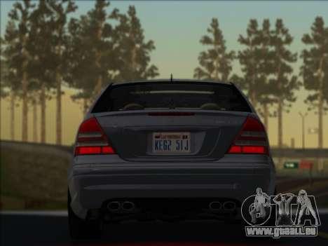 Mercedes-Benz C32 AMG Vossen V1.0 2004 für GTA San Andreas linke Ansicht
