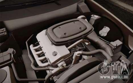 Mercedes-Benz E-Class W124 Kombi pour GTA San Andreas vue de dessous