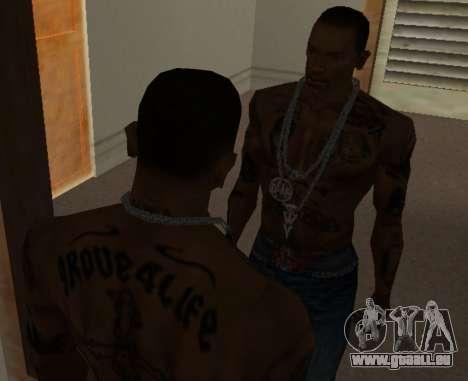 Eine neue Kette für CJ für GTA San Andreas dritten Screenshot