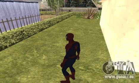 Le nouveau spider-man pour GTA San Andreas cinquième écran