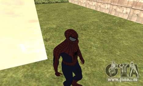 Le nouveau spider-man pour GTA San Andreas troisième écran