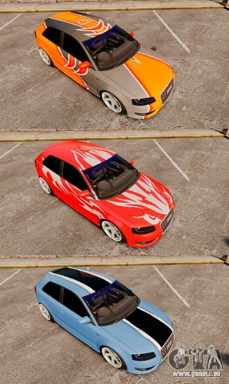 Audi S3 EmreAKIN Edition pour GTA 4 est un côté