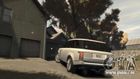 Range Rover Vogue 2014 für GTA 4 Seitenansicht